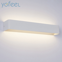 [YGFEEL] LED Wall Lamps 5W 10W 15W AC85-265V Modern Simple Bedroom Lights Indoor Dining-room Corridor Lighting Aluminum Material(China)
