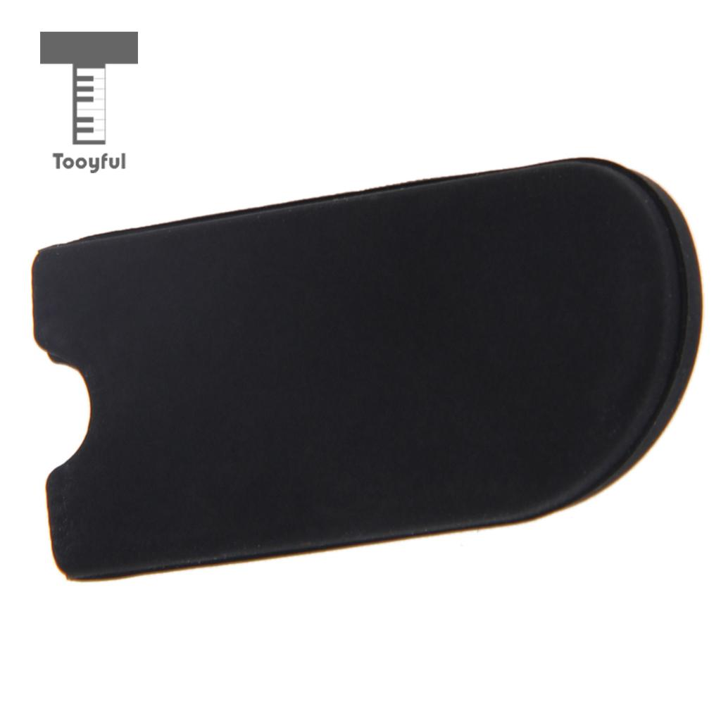 Black Rubber Saxophone Thumb Rest Saver Cushion Pad Finger Protector for Alto Tenor Soprano Sax Thumb Hook Instrument Parts