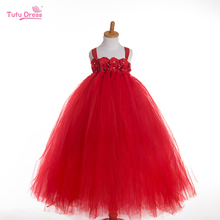 2017 New Baby Girl Tutu Dress Children Clothing Princess Party Style Dress Girls Kids Girls Clothes