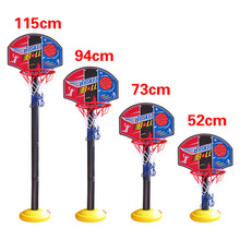 Indoor Outdoor Super Basketball Set Child Fitness Toys Mini Basketball Stand Hoop Backboard Base Tube Inflator for Kids