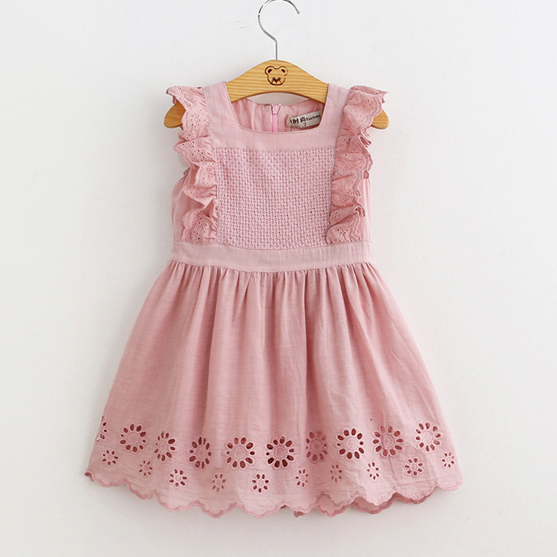 New summer kids clothes girl dress 2017 children clothing princess dress embroidery clothes vestidos<br><br>Aliexpress