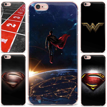 Case For Apple iPhone 7 8 5 6 Phone Case Superman Green Arrow Man Batman Patterned Flowers Beautiful Patterned Cute N Style(China)