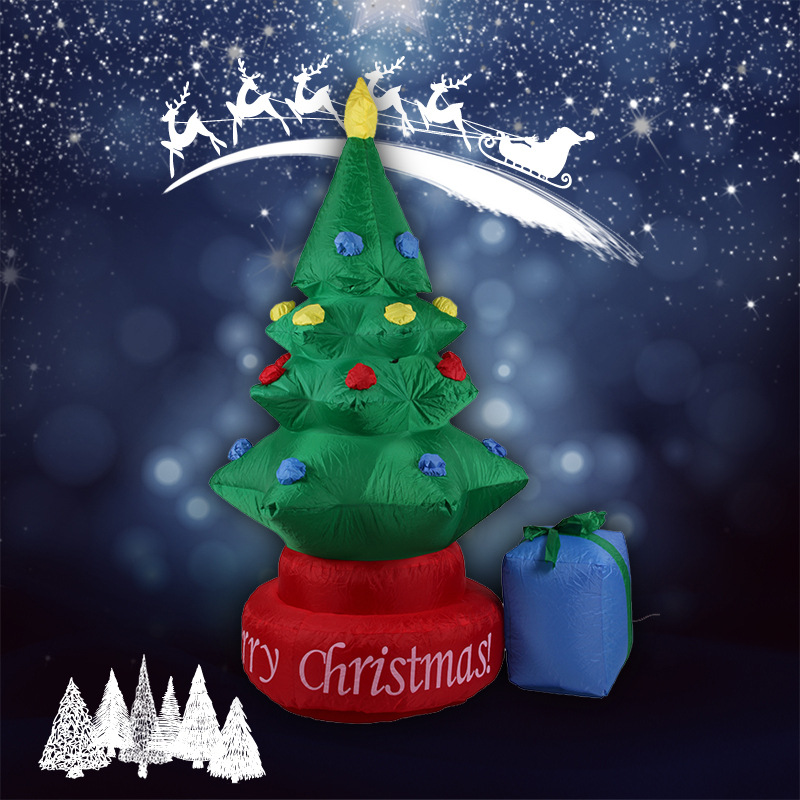 2.1M Inflatable Christmas tree / Christmas decoration / garden decoration / indoor and outdoor decoration(China)