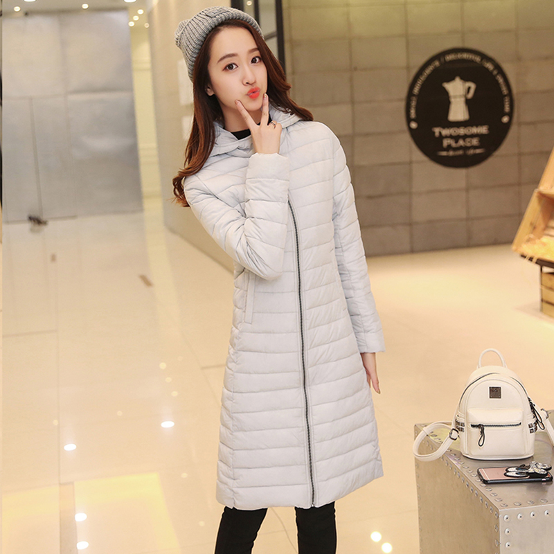 High Quality Cotton Winter Jacket Womens 2017 New Fashion Knee Long Section Winter Parkas Women Hot Plus Size Coats OuterwearОдежда и ак�е��уары<br><br><br>Aliexpress