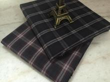 pf46 TWILL Sanded Cotton fabric cloth textile tartan winter coat fabric retail or wholesale 50cm x 145cm(China)