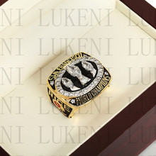 Year 1988 San Francisco 49ers Super Bowl Championship Ring 10-13Size RICE Fans Gift With High Quality Wooden Box(China)