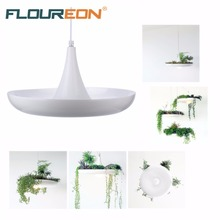 Floureon DT340 Hanging Sky Garden Droplight Balcony Hall Pot Plant Lamp,Pendant Light for Dining Room,Living Room.
