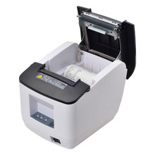 2017 New arrive USB PORT 80mm auto cutter receipt printer kitchen printer can print Qr code Sale-Seller(China)