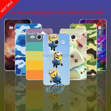 For Samsung Galaxy Core Plus G3500 G3502 G3508 G3509 Case Leopard Skull Cat Lotus Flower Rainbow Hard Cell Phone Case