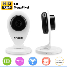 Sricam 720P HD Wireless Mini IP Camera Wifi Smart P2P Baby Monitor Network Surveillance IP Camera Mobile Remote Without IR Cut