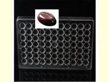 1PC Beans Shaped Polycarbonate Chocolate Bar Mold PC Mould Clear Hard Plastic Candy Mold Mould