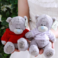 Cartoon Plush Teddy Bear Toys Jumbo Stuffed Dolls Birthday To Bears Valentines for Baby&Kids Christmas Gift one pcs(China)