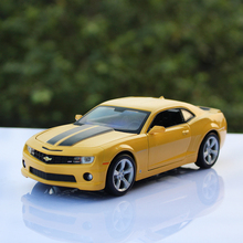 1:24 Scale maisto 2010 Chevrolet camaro SS RS Bumblebee metal racing vehicle play collectible Alloy models sport cars toys kids