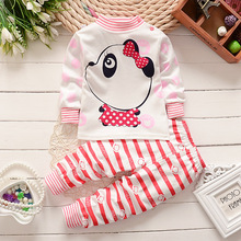 Child clothing set boys newborn Winter Children's T-shirt sports suits boys baby clothing babies autumn 1 2 3 year