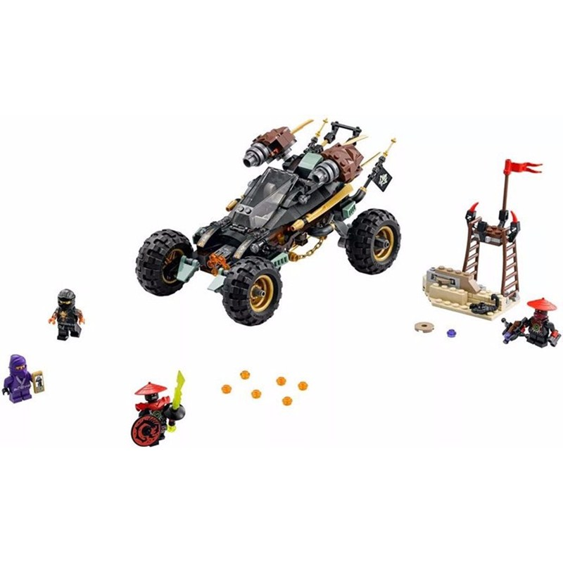 443pcs New LEPIN 06032 JAY Rock Roader Model Building Kits Enlighten Blocks Bricks DIY Toys Gift Compatible with 70589 Brciks<br><br>Aliexpress
