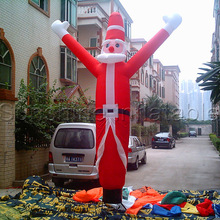 Christmas inflatable santa claus air dancer christmas air tube man