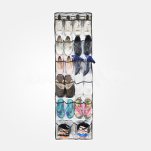 mounted shoes rack/hanger of oxford fabric and pvc material with hooks to save space, shoes storage rack(China)