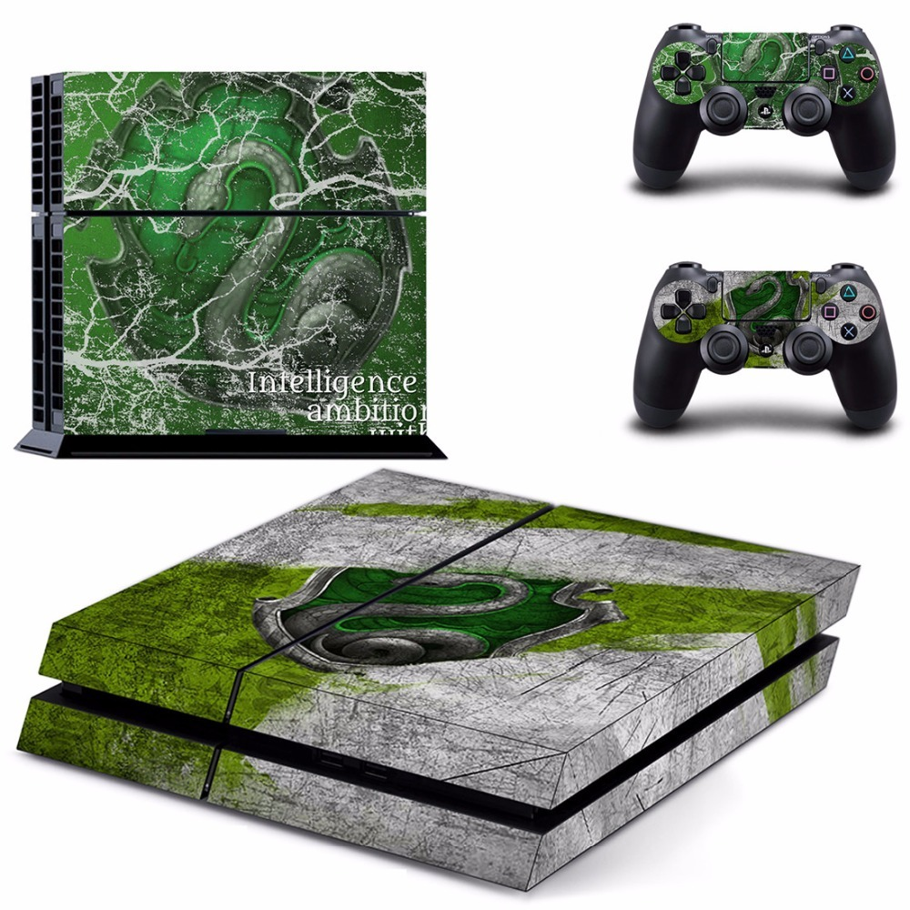 Harry Potter Vinyl PS4 Skin Sticker for Sony playstation 4 Console and Controller title=