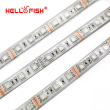 IP68 Waterproof 5M 300 LED 5050 LED strip 12V LED flexible strip light, Filled silicone waterproof, work in the water.(China)