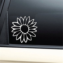 Flower Die Cut Decal Car Decal / Sticker die cut vinyl decal for window car truck noteBook virtually any hard, smooth surface