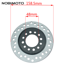 160mm 4 Hole Rear Brake Disc Rotor High Quality Alloy Rear Brake Disc Roter Motorcycle Spare Parts Fit For ATV Dirt Bike DS-148