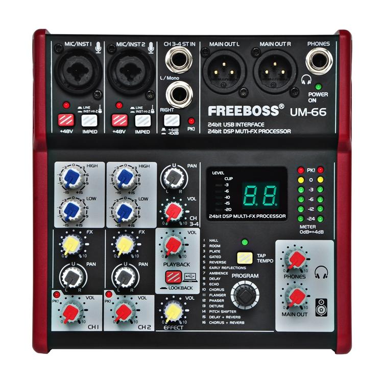 UM-66  11  Audio Mixer