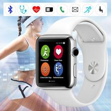 "Original For W51 1.5"" Inch Smart Watch Heart Rate Management MP3 Player for Android iOS Smartphone Professional Smartband Gift"