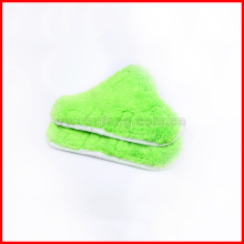 Free Shipping Set of 2 H2O X5 Model Steam Mop Pads Cloth For Steam Mop Clean Washable Microfiber WASHABLE VELCRO FITTING Cloth