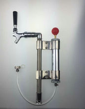 Manual Beer keg pump with beer faucet,co2 kegging Party pump High quality keg party pump,without coupler(China)