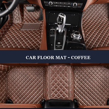 LUNDA Custom fit car floor mats for Land Rover Discovery 3/4 2 Sport Range Rover Sport Evoque 3D car styling carpet liner