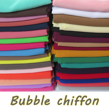 15pcs/lot High Quality Plain Bubble Chiffon Shawls Headbands Popular Hijab Summer Muslim Scarfs(China)