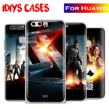 Justice League JLA Movie Phone Case Cover Shell Bag For Huawei Ascend P8 P9 Lite P10 Plus Honor 6x 7i 8 V8 V9 9 Mate 7 8 9 Nova