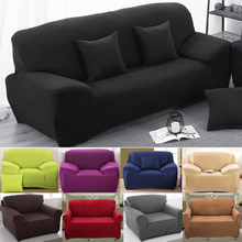 Modern Sofa Cover Elastic Polyester Sofa Towel Furniture Protector Polyester  Love seat Couch Cover 1/2/3/4-seater