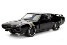 Jada 1:32 FAST AND FURIOUS F8 DOM'S 1972 Plymouth GTX Diecast Model Car Toy New In Box Free Shipping