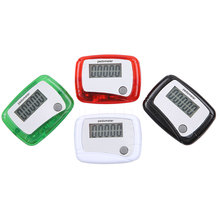 Hot New LCD Digital Pedometer Step Counter Walking Calorie Counter Consumer Electronic Running Step Movement Counter for Fitness(China)