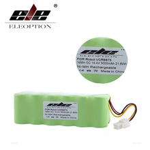 ELEOPTION High Quality 14.4V 3000mAh 3.0Ah Ni-MH Rechargeable Vacuum Cleaner Battery For Samsung NAVIBOT VCR8875 14.4 Volt