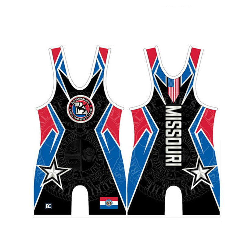 Custom Wrestling Singlet in All Size Power Lifting Suit(China (Mainland))