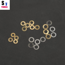 Stainless steel wahser knife Brass washers shim 10 pieces 4 size Sy tools(China)