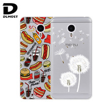 TPU Soft Cases For Meizu M3 Note Transparent Printing Drawing Silicone Phone Cases Cover For Meizu M3 Note