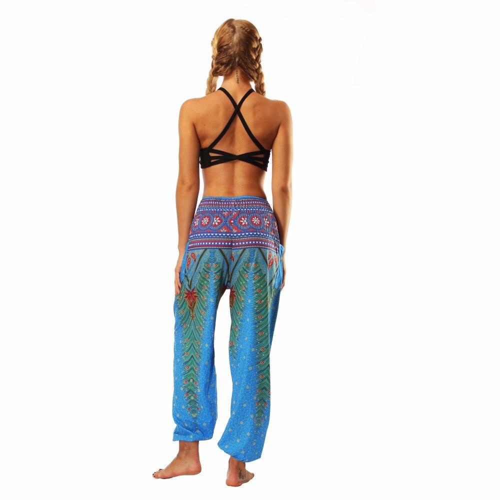 TL002- blue loose yoga pant legging (8)
