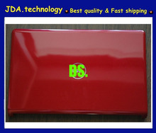New/orig back Shell For Dell Inspiron 1564 15.6'' laptop pink LCD Back cover Red A cover
