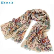 Dec 24 Amazing 170cm*80cm Vintage Autumn Winter Scarves Women Ladies Scarf Wrap Shawl 2016 New