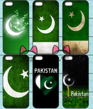 Pakistan Flag Moon Star Skins TPU Phone Case for Iphone 4S 5S SE 5C 6 6S 7 Plus Sony Z2 Z3 Compact Z4 Z5 Mini HTC M7 M8 M9 820