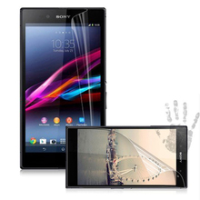 Hot Sale Power Support Anti-Glare Screen  Protector Film Set for Sony Xperia Z Ultra XL XL39h