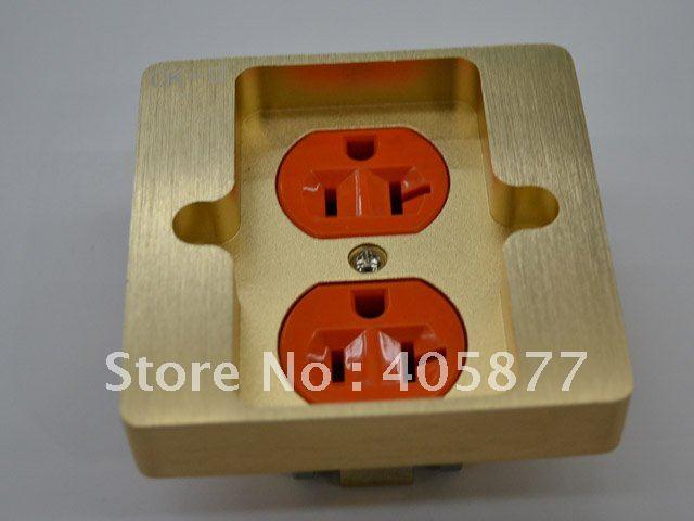 KING SNAKE CK-III 24K Gold plated wall plate power socket<br><br>Aliexpress