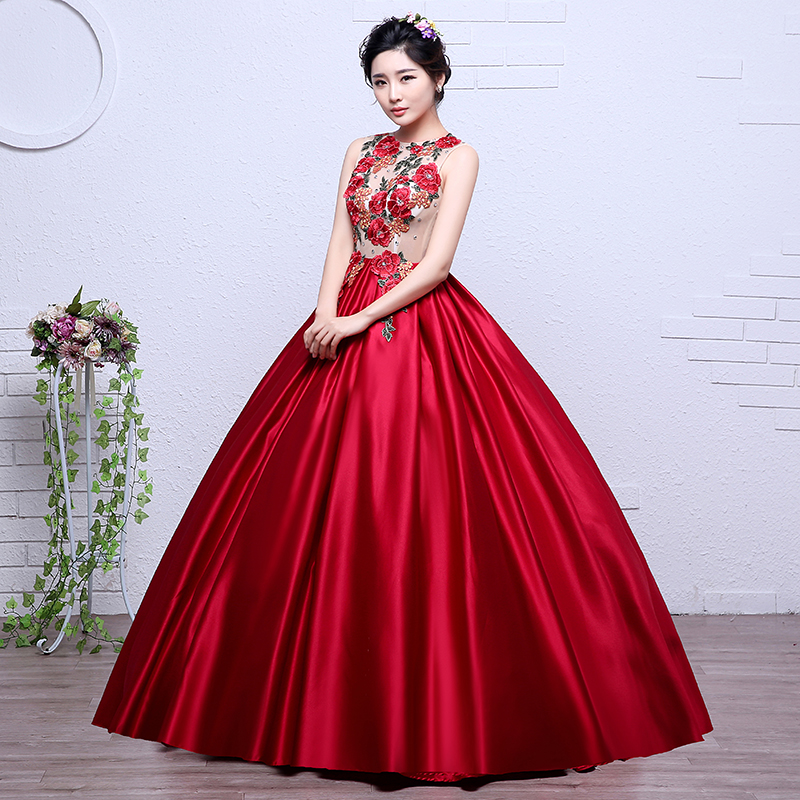 ruthshen Elegant Long Prom Dresses 2018 Flowers Prints Pattern Cheap Vestido  Longo Women Sexy Formal Evening Gowns. 12298 12298-1 12298-2 12298-3 ... 9d7cbc28754f