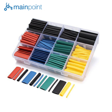 Buy Mainpoint 530Pcs Heat Shrink Tubing Sets Insulation Shrinkable Tube Polyolefin Termoretractabil 2:1 Thermal Wrap Wire Cable Tool for $7.99 in AliExpress store