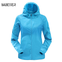 NIBESSER 2017 Autumn Plus Size 3xl Bomber Jacket Women Fashion Hooded Tops Jacket Femme Casual Candy Colors Windproof Coat(China)