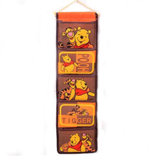 Cartoon Winnie The Pooh Multifunctional Storage Bag Fashion Organizer Hanging Storage Pouch Bags Case for Door Bathroom(China)
