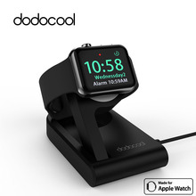 dodocool MFi Certified Foldable Magnetic Charging Dock Holder Stand charger for 38mm/42mm Apple Watch 3ft Integrated USB Cable